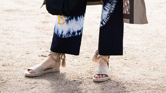 Comfortable and cool espadrilles for the last month of summer