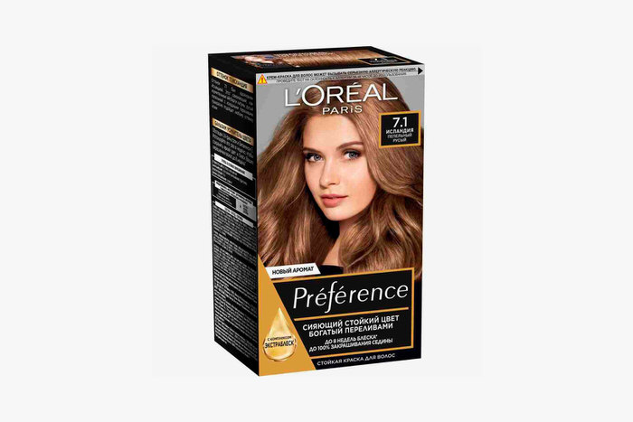 Preference, Iceland, L'Oreal Paris, 459 rubles