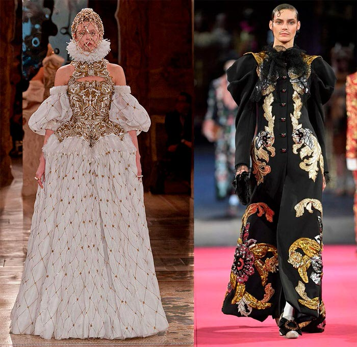 Queen's style and modern fashion