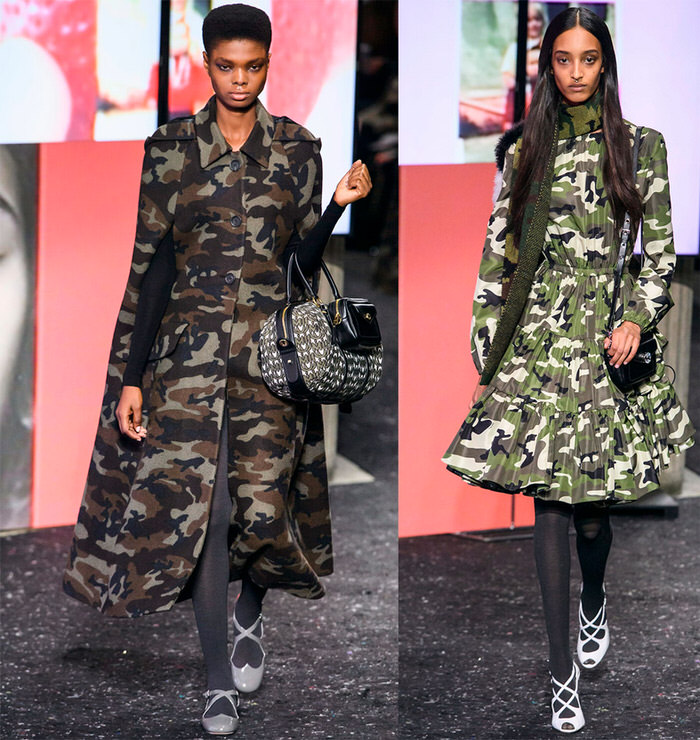 military style in fashion 2019-2020