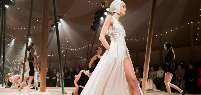 When haute couture dresses inspire future brides