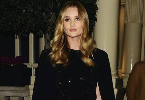 MCHP, or Chanel's behest: where to find a little black dress like Rosie Huntington-Whiteley