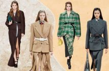 Stylish two!  Suit with a skirt - trend of autumn 2020