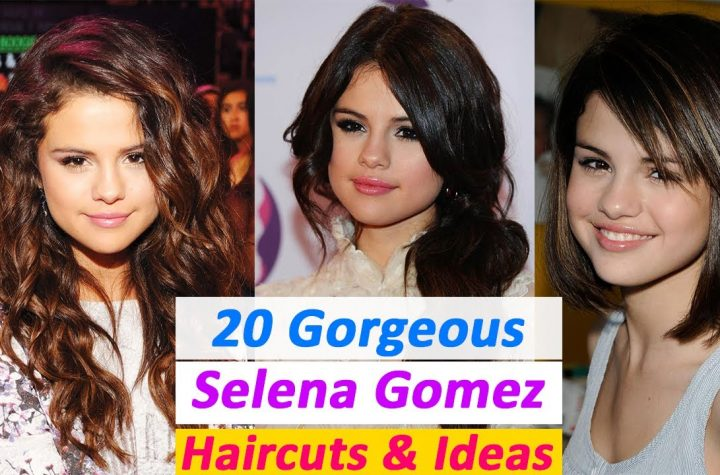 20 Gorgeous Selena Gomez Round face Haircuts That Will Inspire You | 20 Hair Ideas From Selena Gomez