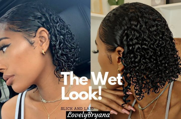 The Wet Look! | Juicy Curls 3B/3C Fine Hair | LovelyBryana