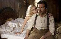 Bradley Cooper Jennifer Lawrence man and woman in bed