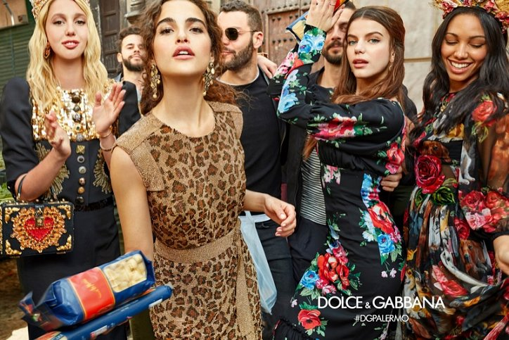 Dolce & Gabbana advertising campaign fall-winter 2017-2018