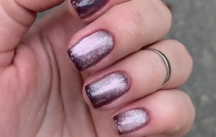 Instead of bullfinches and Christmas trees: 10 ideas for New Year's manicure 2021
