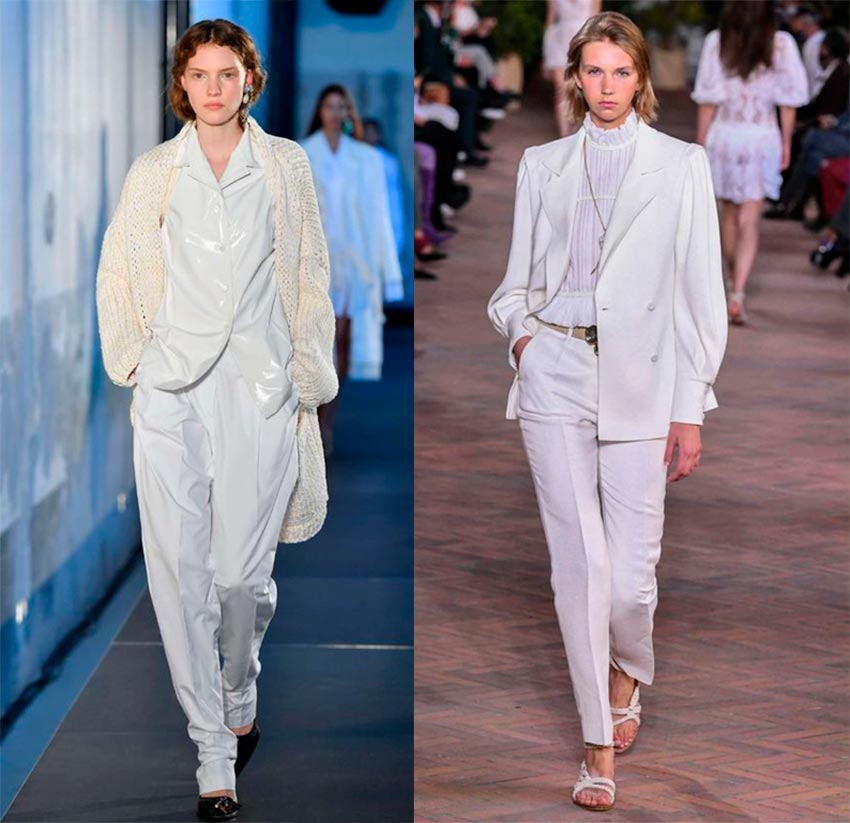 White is in fashion