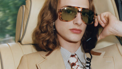 Different eras and cities meet in Gucci's fall sunglasses campaign (photo 1)